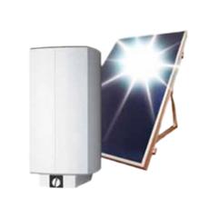 Бойлер SolvisMini и плоский солнечный коллектор