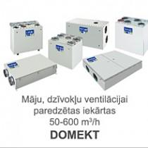 Gaisa rekuperatori DOMEKT