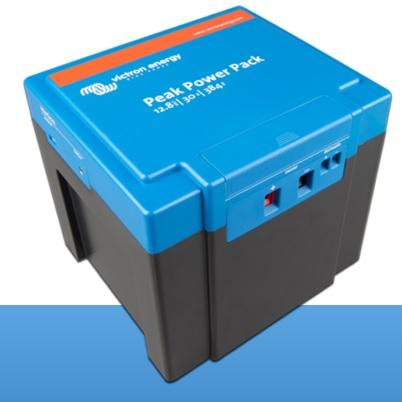 Litij-jonu saules bateriju akumulators Peak Power Pack (8Ah, 40Wh lidz 40Ah, 512Wh)