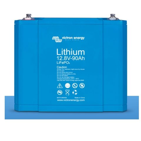 Litija-dzelzs fosfāta akumulators saules baterijām VICTRON 12,8V (60-300Ah)