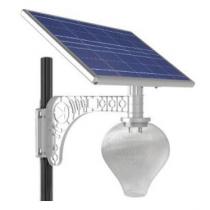 Лампы с солнечными батареями