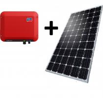 Saules bateriju komplekti ON GRID (tīkla)
